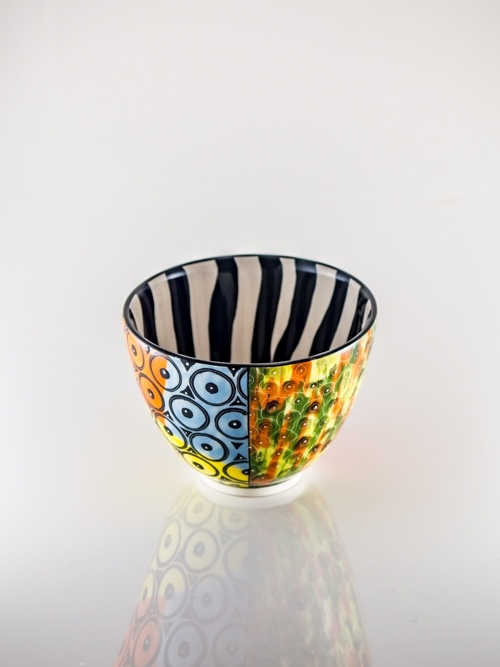 Large Bowl African Design