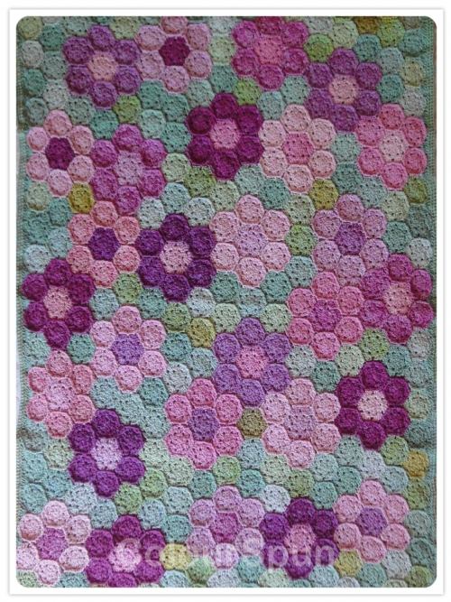 Summer Garden Crochet Blanket