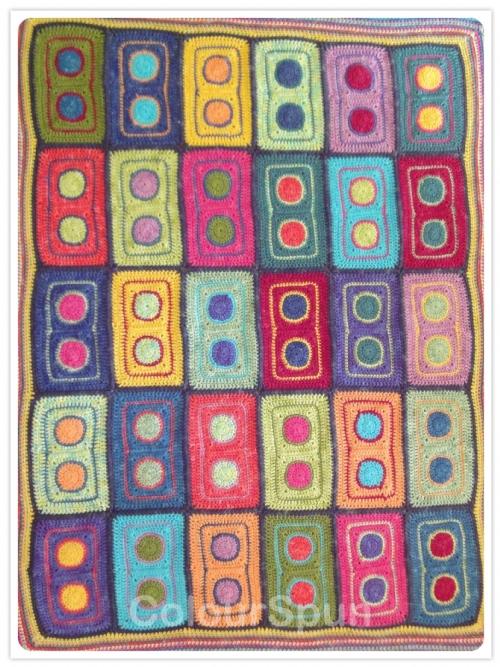 Gypsey Carnival Crochet Blanket