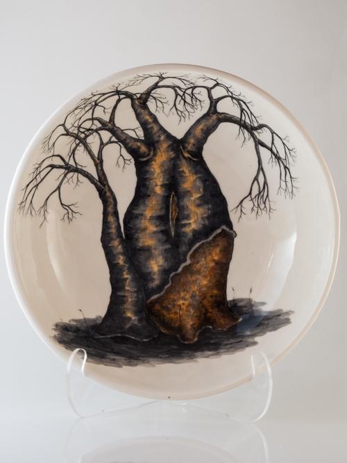 Shallow Baobab Bowl