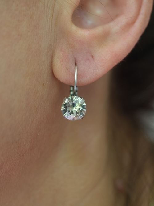 Swarovski Crystal Hanging Earrings