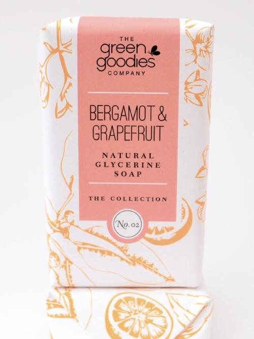 Natural Glycerine Soap Bergamot & Grapefruit