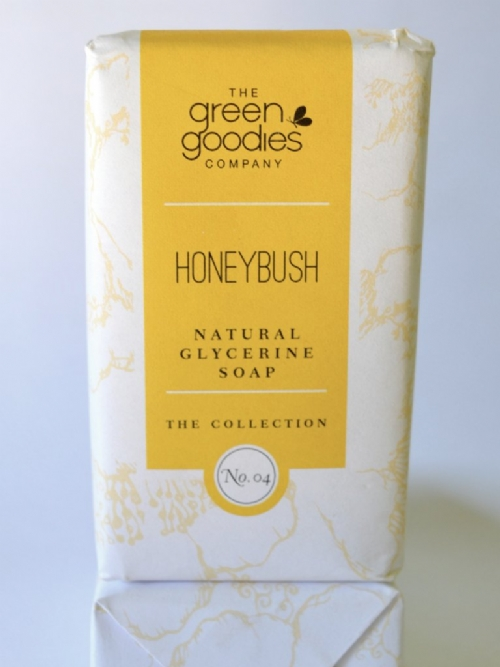 Green Goodies Natural Glycerine Soap Honeybush 160g