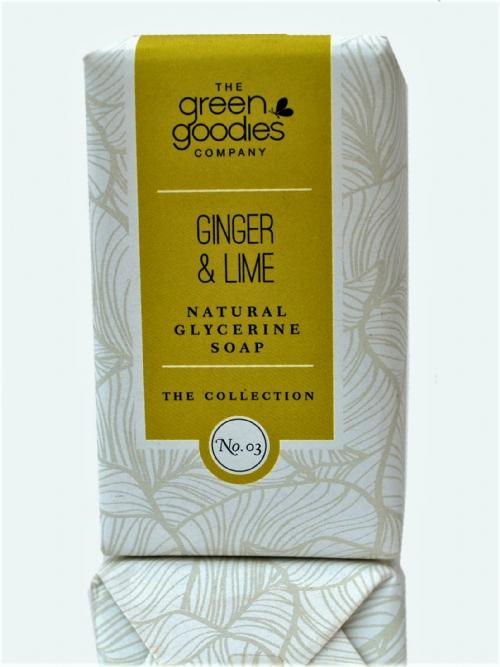 Natural Glycerine Soap Ginger & Lime