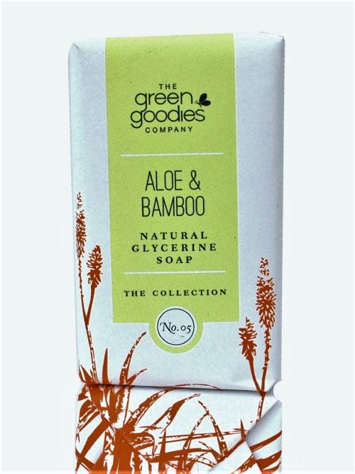 Natural Glycerine Soap Aloe & Bamboo