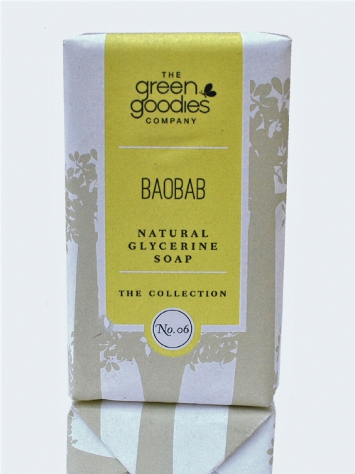 Green Goodies Natural Glycerine Soap Baobab 160g