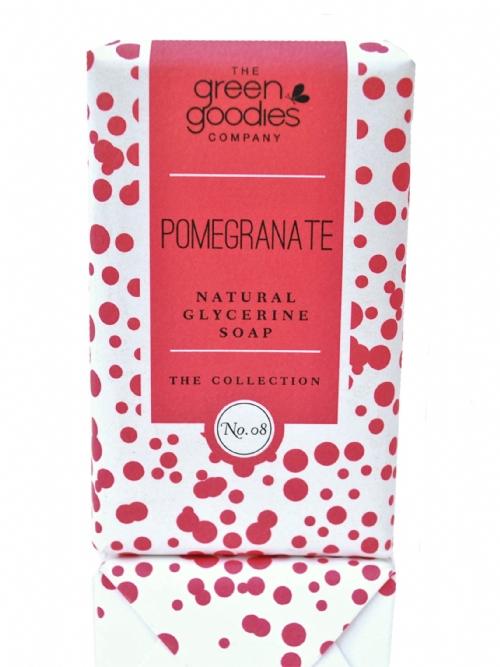 Natural Glycerine Soap Pomegranate
