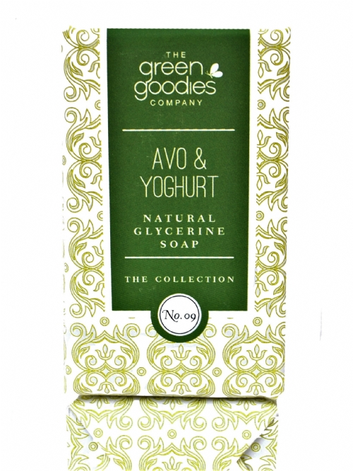 Green Goodies Natural Glycerine Soap Avo & Yogurt 160g
