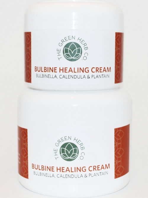 GG Green Herb Collection Bulbine Healing Cream 250ml