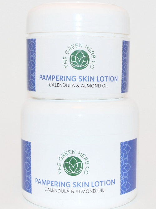 Green Herb Pampering Skin Lotion 125ml
