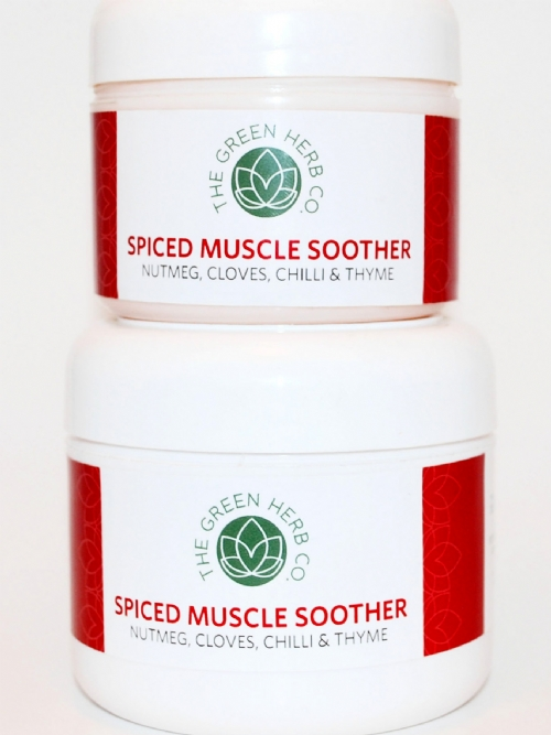 GG Green Herb Collection Spiced Muscle Soother 125g