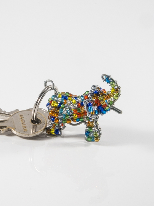 Elephant Keyring/Zip-Puller