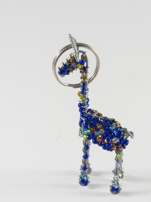 Giraffe Keyring/Zip-Puller