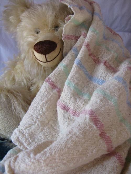 Hand-woven Baby/Cot Blanket