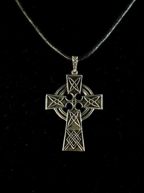 Celtic Cross With Circles Pendant