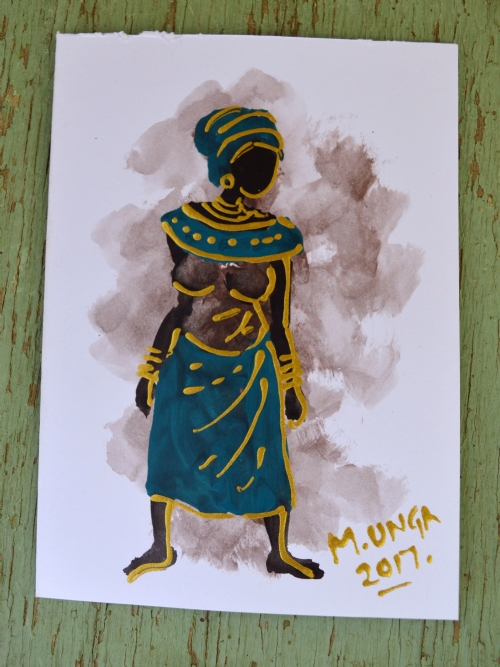 African Lady 6