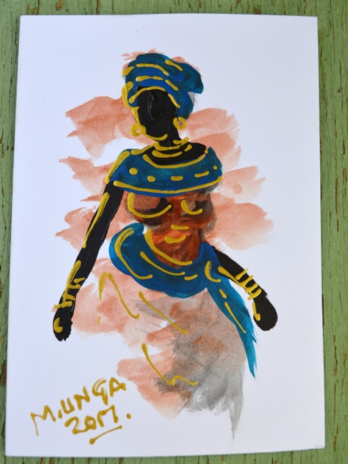 African Lady 8