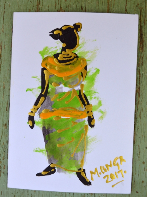 African Lady 10