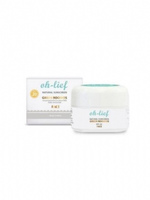Oh-Lief Natural Sunscreen SPF20 (Face)