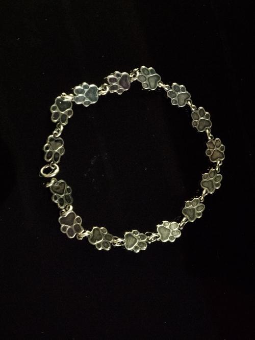 Paw Print Solid Bracelet