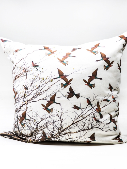 Cushion Cover - Carmine Bee Eaters - Large