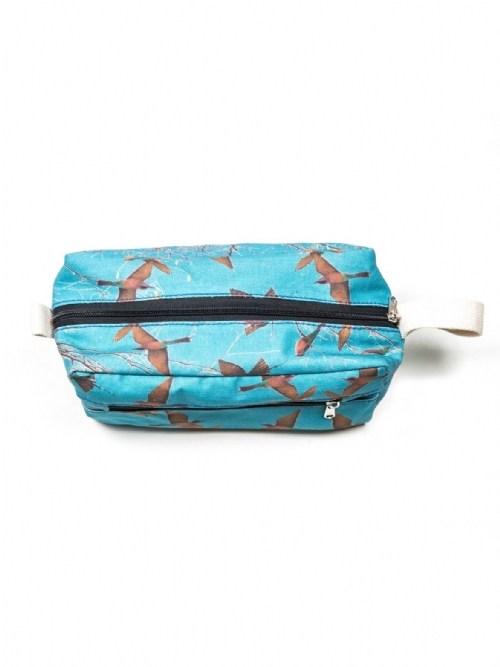 Toiletry Bag - Carmine Bee Eaters	- Medium