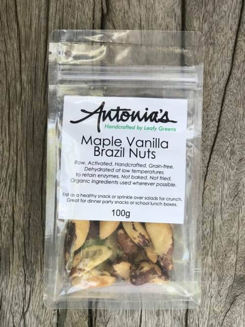 Maple Vanilla Brazil Nuts 100g