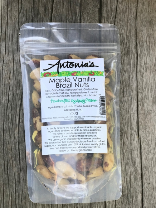 Maple Vanilla Brazil Nuts 250g