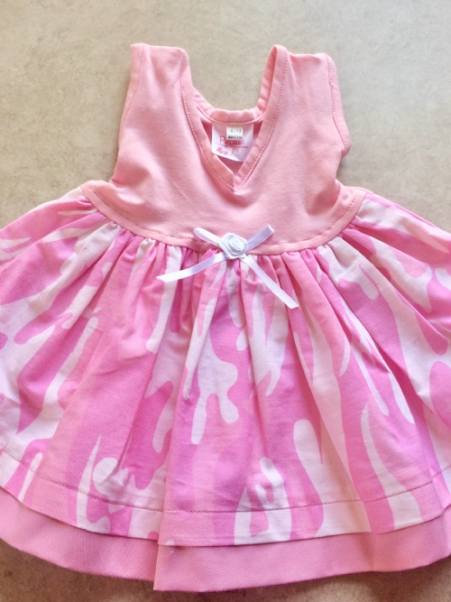 Dress - Funky Pink Cameo