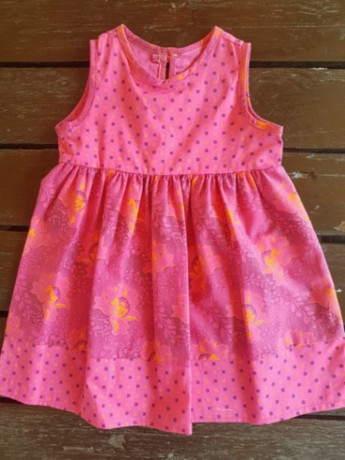 Dress Shweshwe Pink