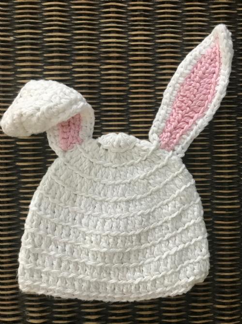 Bunny Beanie - Pink
