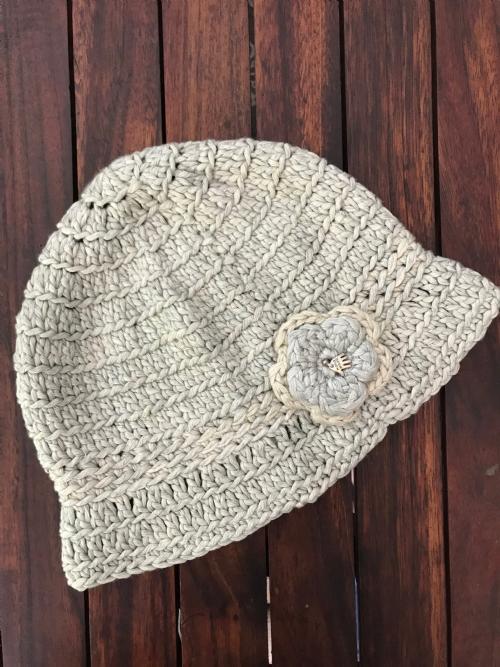 Cloche Hat Stone
