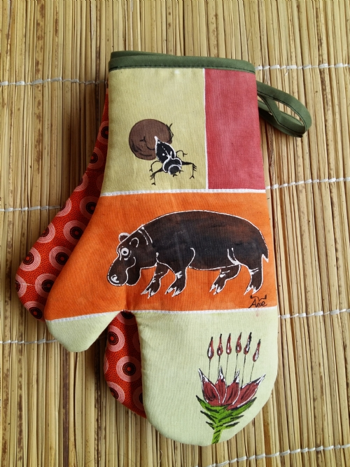 Oven Gloves Hippo