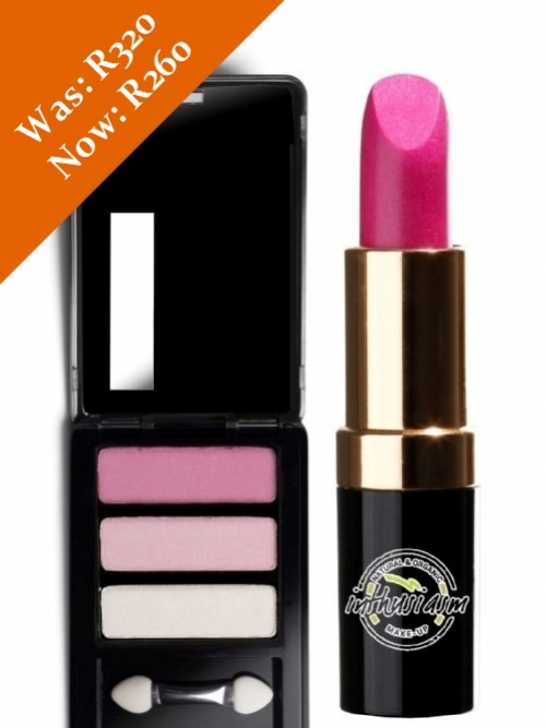 Eye Shadow & Lipstick Special (Pink/Candy Pink)