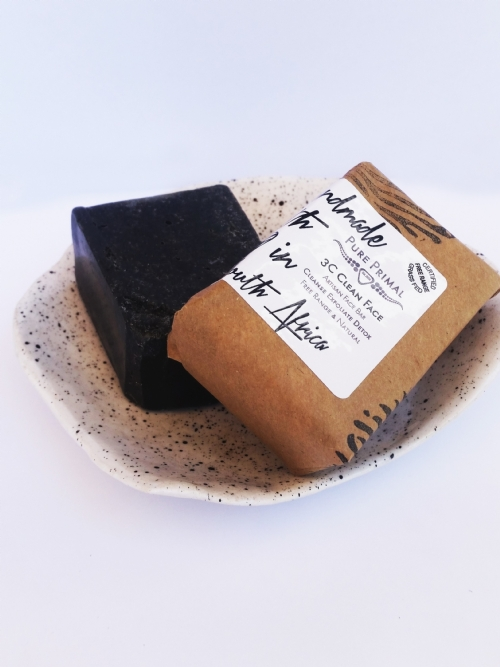 3C Detox Face Bar - Activated Charcoal Soap