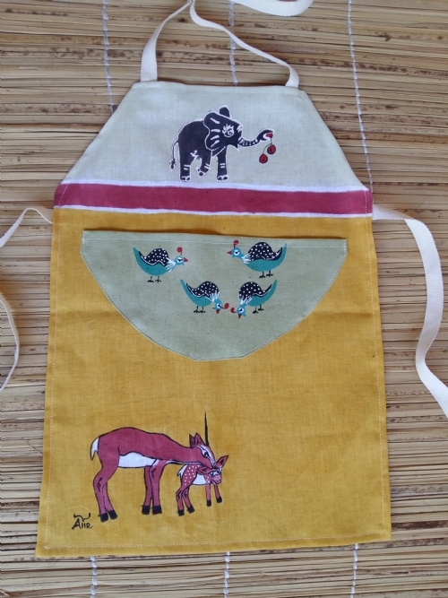 Children Apron Springbok