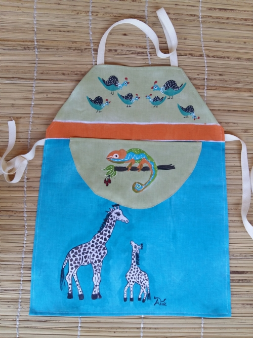 Children Apron Giraffe