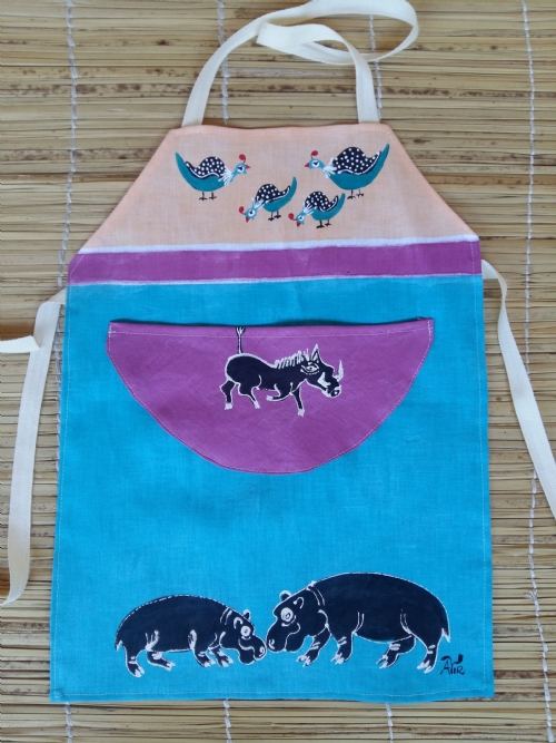 Children Apron Hippo
