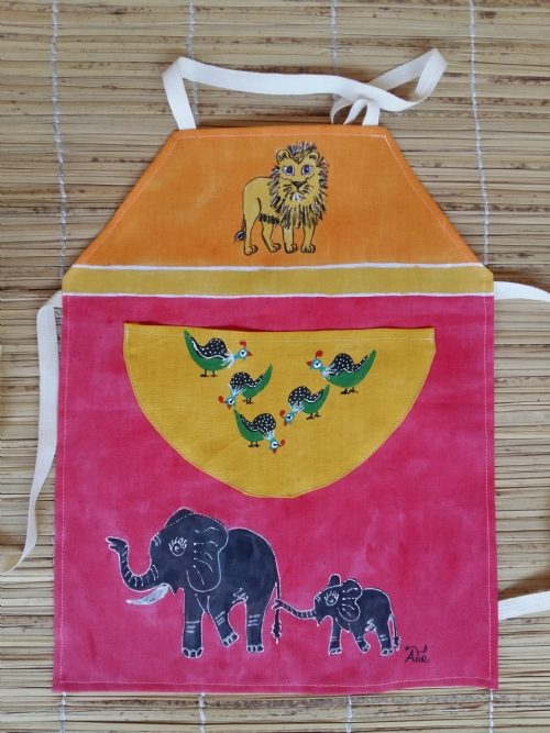 Children Apron Elephant