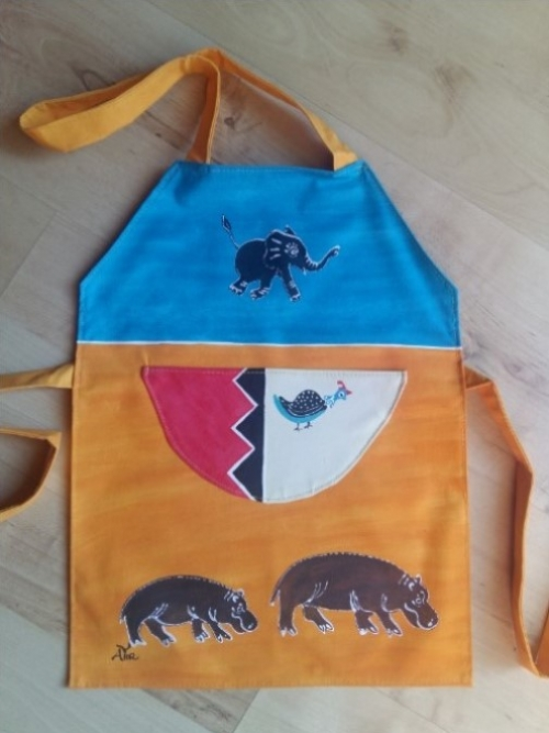 Children Apron Hippo 2