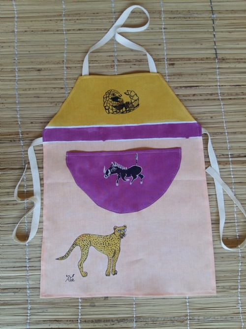 Children Apron Cheetah