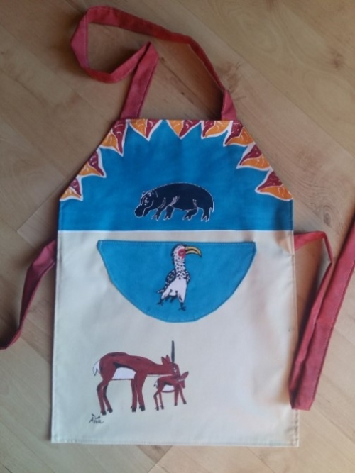 Children Apron Springbok 2