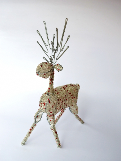 Reindeer With Plain Antlers - Large