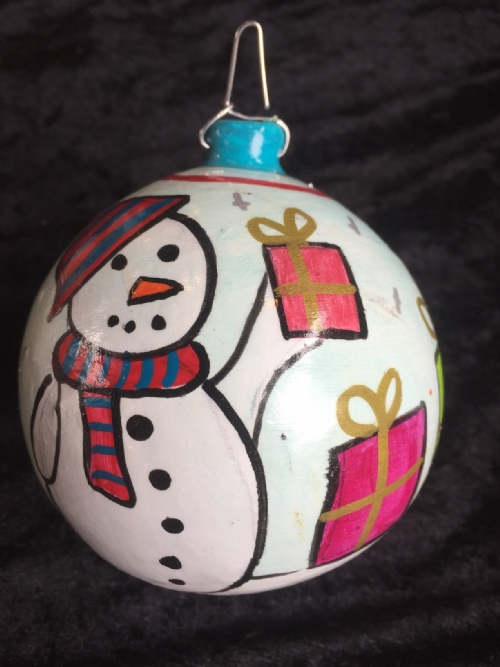 Hanging Ornament Snowman