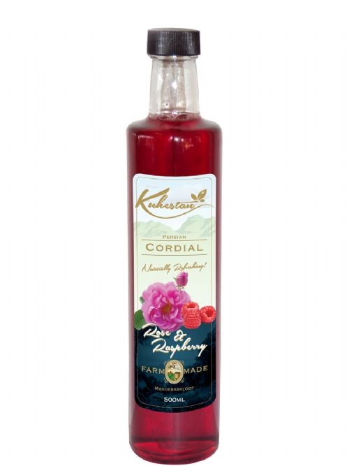 Rose and Raspberry Cordial
