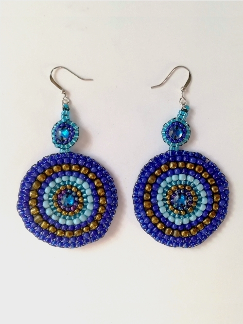 Mandala Earrings - Large