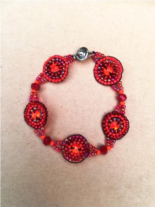 Five Mandala Bracelet