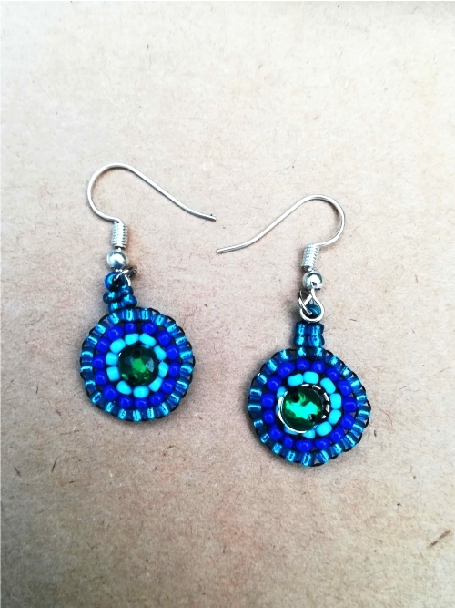 Earrings Mandala - Small