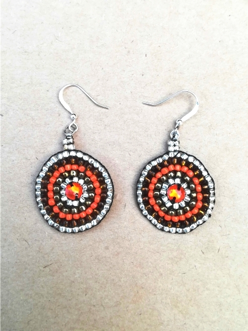 Earrings Mandala - Medium