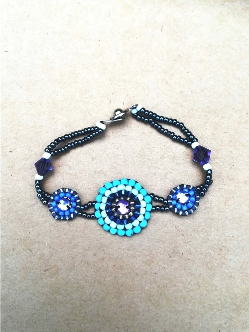 Bracelet With Centred Mandala